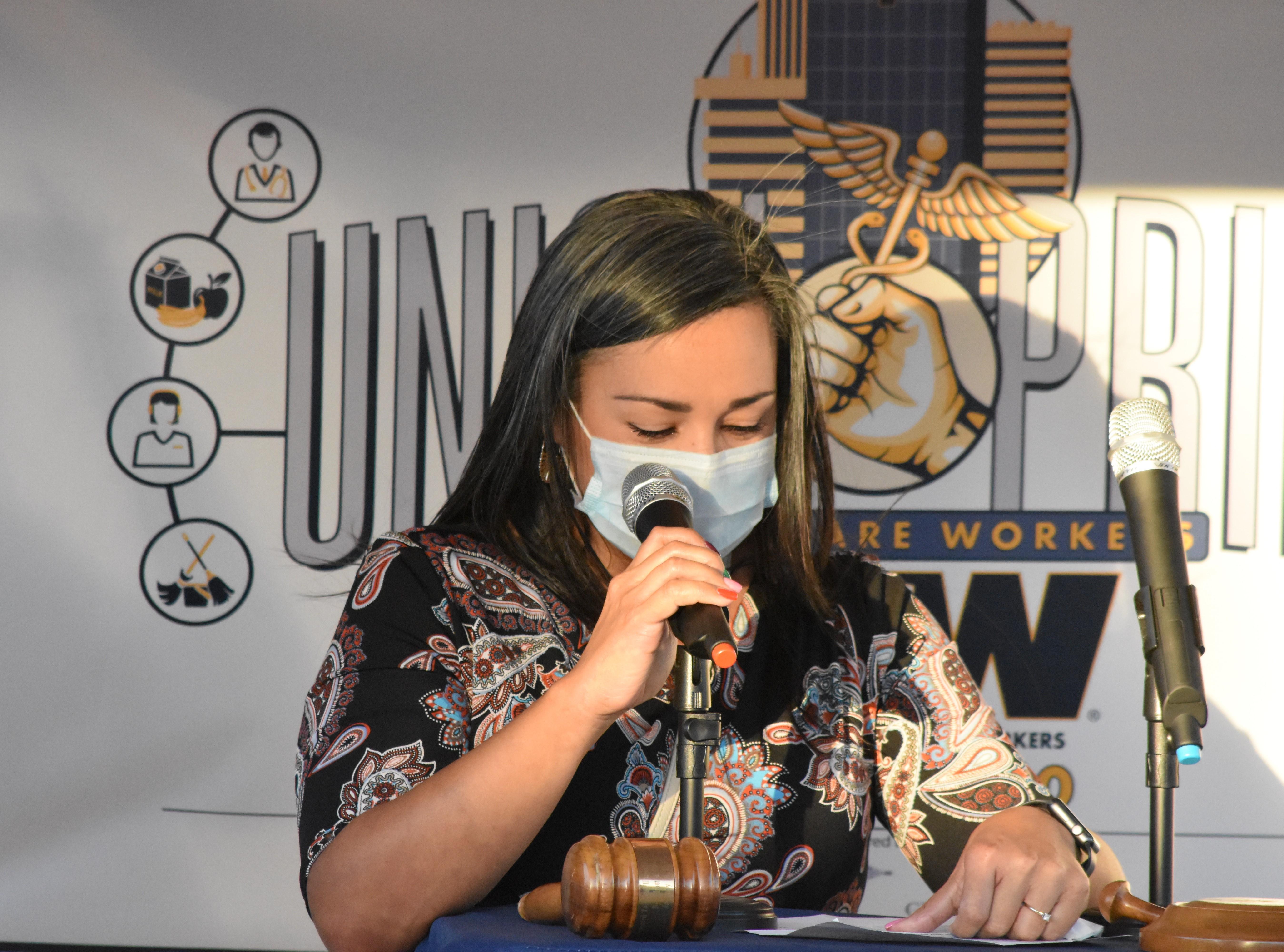 Gabriela Plascencia – Riverside Councilwoman Ward 5 Delivers a Moving Speech