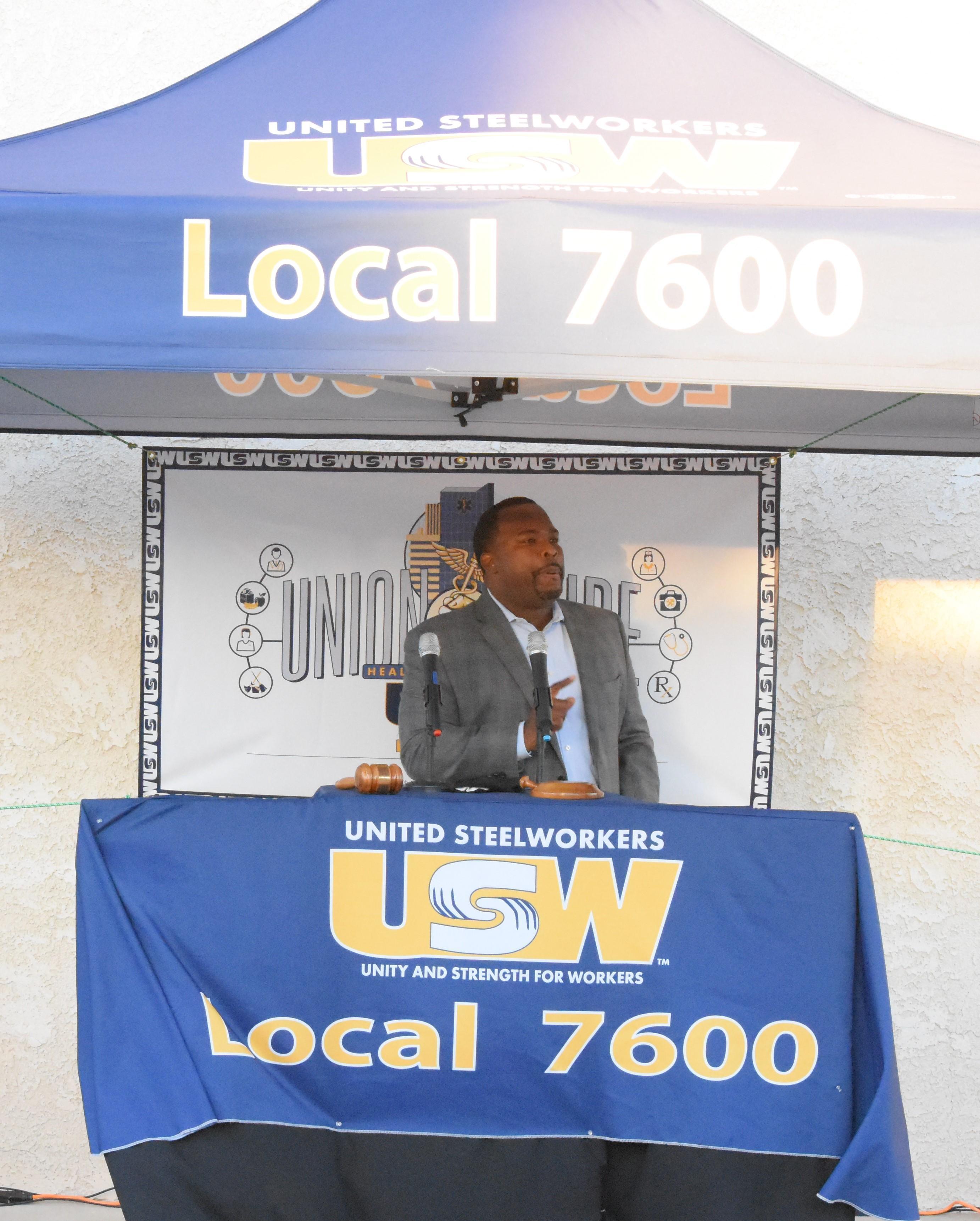 Channing Hawkins WVWD board member